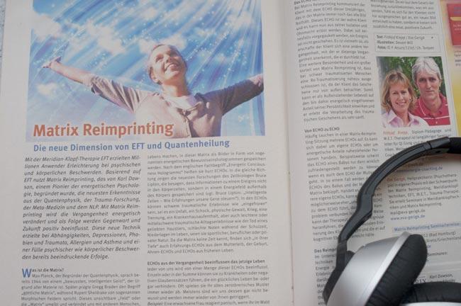 Matrix Reimprinting - Artikel, Vorträge & Interviews